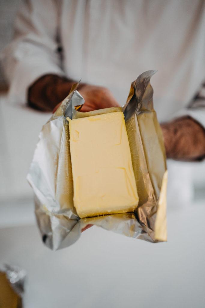 francouzské máslo
