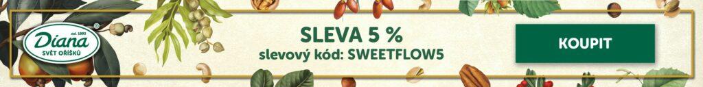 Diana svět oříšků 5% sleva se slevovým kódem: SWEETFLOW5